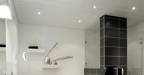 Agnes plafond badkamer – Mdf lakken hoogglans