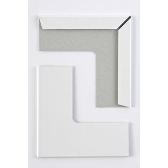 Buitenhoek wit 15 mm systeemplafond / doos 50 st