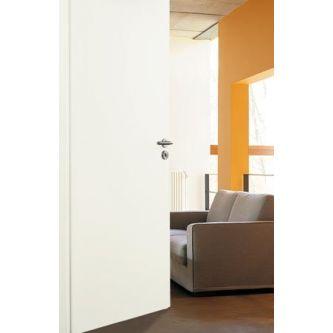 Stompe deur 880x2115 mm wit honingraat Rechts draaiend