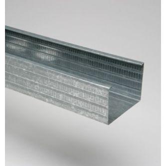 MSV 100 6000 mm verticaal metalstudprofiel / bundel 8 stuks