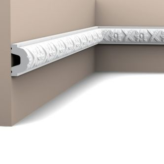 Orac P2020F wandlijst 200x4.4x2.6 cm