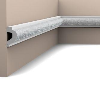 Orac P3020F wandlijst 200x4.4x2.6 cm