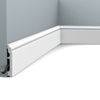 Orac SX173F contour plint in flexibele uitvoering 200x10x1.6 cm