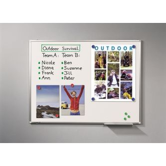Premium Plus Whiteboard 75x100cm