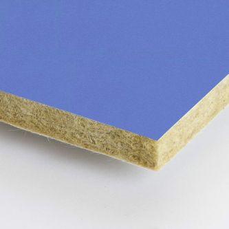 Blauwe Rockfon Aqua 600x600x25 mm inleg plafondplaten