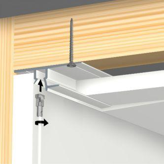 Artiteq shadowline drywall wit 13 mm 250 cm