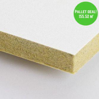 Pallet Eurocoustic Tonga Wit 600x1200 mm inleg