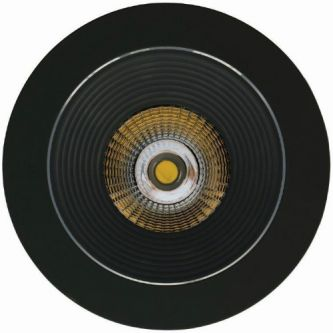 Luxalon LEDspot HD 702 zwart
