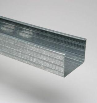 MSV 125 4000 mm verticaal metalstudprofiel / 8 stuks