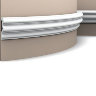 Orac P4025F wandlijst 200x8.3x3.4 cm