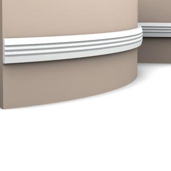 Orac P5021F wandlijst 200x3.1x0.9 cm