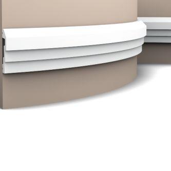 Orac P7070F wandlijst 200x7.4x2.2 cm