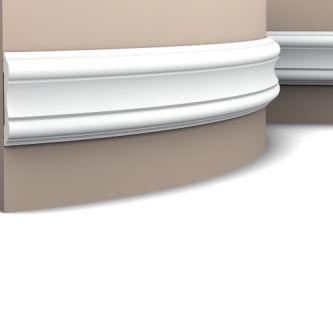 Orac P8040F wandlijst 200x10.1x2.2 cm