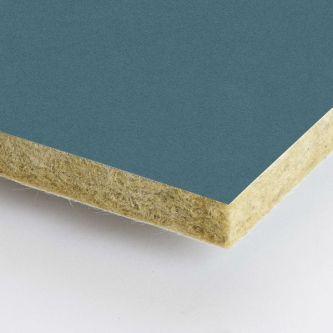 Rockfon blauw Ermine 600x600x25 mm inleg plafondplaat