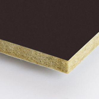Bruine Rockfon Humus 1200x1200x25 mm inleg plafondplaten