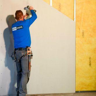 Complete metalstud wanden voor het maken van scheidingswanden of muren in slaapkamers, woonkamers, zolders en andere ruimten