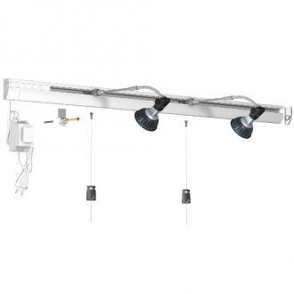 Combi Rail Pro Light wit complete set - 400 cm Artiteq