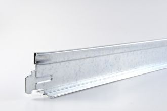 Dwarsprofiel Geipel chroom T24 600 mm / st