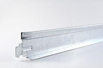 Dwarsprofiel Geipel chroom T24 1200 mm / st