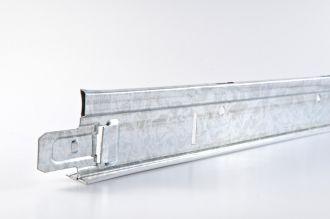 Hoofdprofiel Geipel chroom T24 3700 mm / st