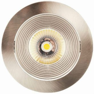 Luxalon LED spot HD 702 aluminium geborsteld