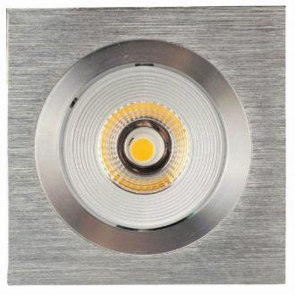 Luxalon LED spot HD 706 aluminium geborsteld