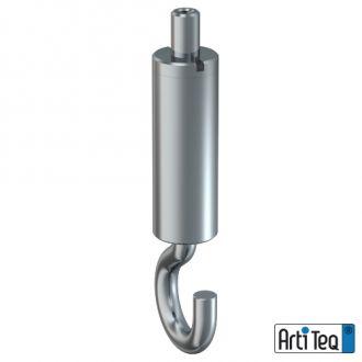 Staaldraadhaak zelfklemmend 1,2 mm staal 02