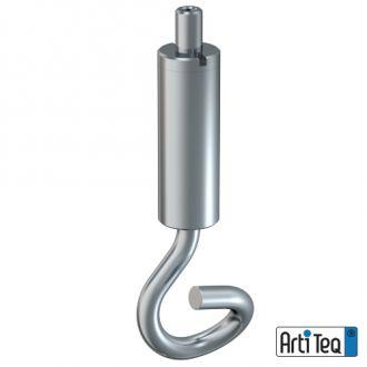 Staaldraadhaak zelfklemmend 1,2 mm staal 01