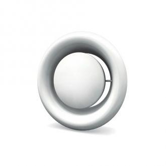 Ventilatierooster aluminium kunststof