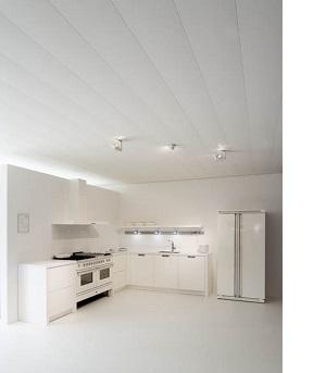 Keuken plafond Luxalon type L300 gebroken wit